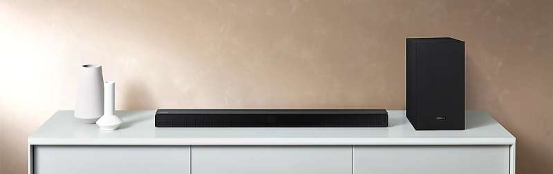 Samsung HW-T550 On Desk